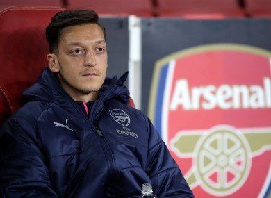 Next chapter: Mesut Özil.