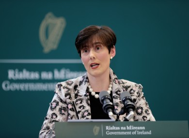 Minister for Education Norma Foley