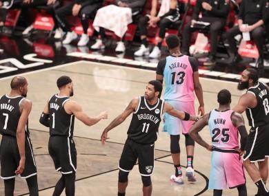 Brooklyn Nets: 128-124 winners against Miami Heat.
