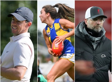 There's plenty of golf, AFLW and football on the menu this weekend.