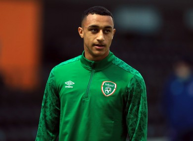 Adam Idah has won five senior caps for Ireland since being given his debut by Stephen Kenny in September.