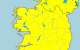 A national Status Yellow snow/ice warning kicks in at 6pm