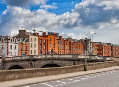 File image of Dublin city.