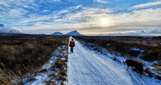 Some wintry snaps of Ireland this week as more snow sweeps across the country
