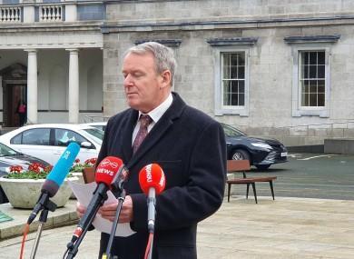 Sinn Féin TD Brian Stanley.