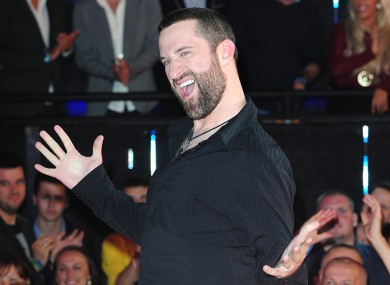 File image of Dustin Diamond in 2013.