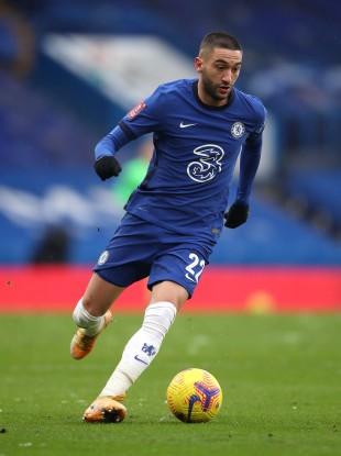 Chelsea's Hakim Ziyech (file pic).