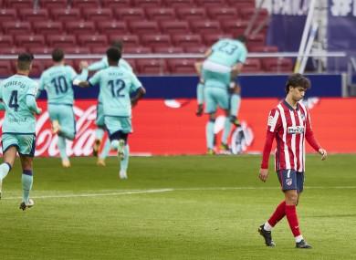 Joao Felix of Atletico de Madrid during the La Liga match.