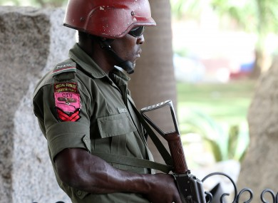 File photo. Nigerian security forces.