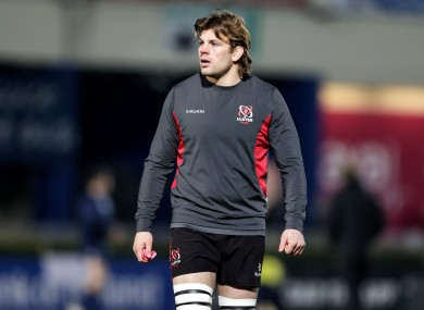 Jordi Murphy captains Ulster for the first time tonight.