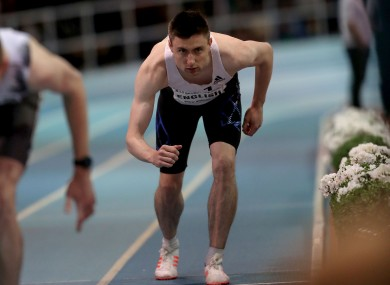 Donegal's Mark English was in record-breaking form at the National Indoor Arena.