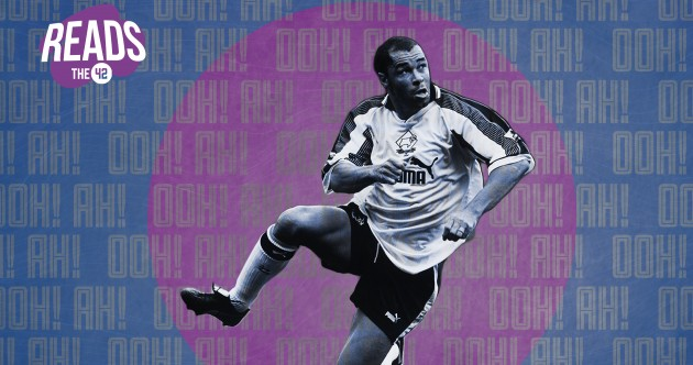 Paul McGrath at Derby County: an Irish football legend's last dance