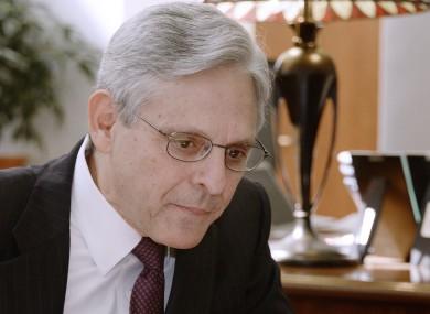 Judge Merrick Garland in 2016