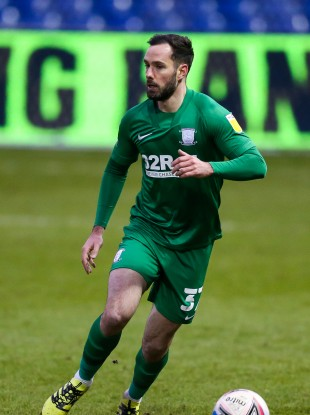 Preston North End's Greg Cunningham (file pic).