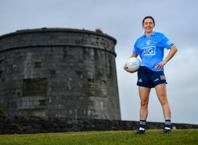 Dublin's Lyndsey Davey at the AIG/LGFA 2020 Teams of the 2020 TG4 All-Ireland Ladies Football Championship event.