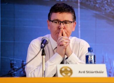 GAA Director General Tom Ryan.