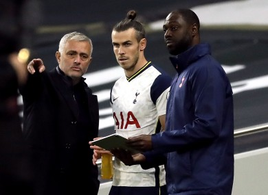 Jose Mourinho and Gareth Bale [file photo].
