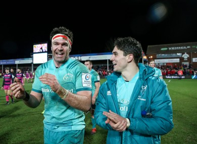 Billy Holland captains the side, while Joey Carbery is among the replacements.