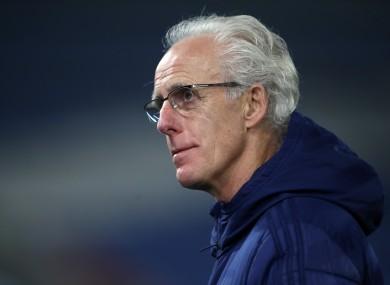 Cardiff City boss Mick McCarthy.