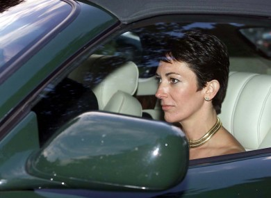 File image of Ghislaine Maxwell.