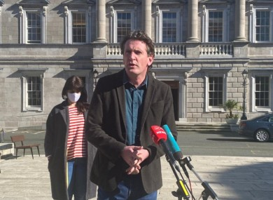 If the government just shrugs their shoulders and suggests that everybody involved in the protest tomorrow is beyond hope, they're  making a very big mistake, said Ó Ríordáin.