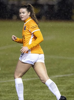 Clare Shine plays her club football at Glasgow City.