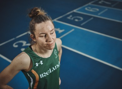 Irish Paralympic athlete, Greta Streimikyte, pictured following the announcement of Paralympics Ireland's new fundraising campaign 'The Next Level'.