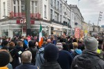 The scene in Cork City this afternoon