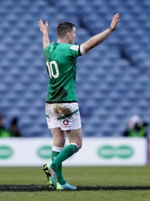Sexton scored the winning penalty for Ireland.