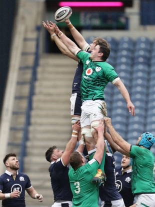 James Ryan was outstanding in the lineout.