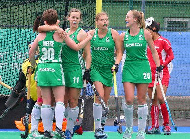 Ireland will play Great Britain in a three-game series in Belfast.