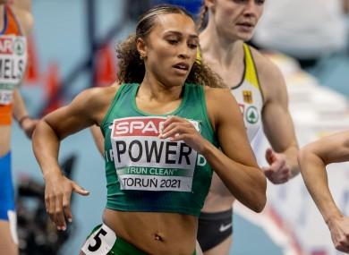 Ireland's Nadia Power.