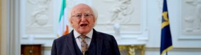 President Michael D Higgins signs mandatory quarantine legislation into law