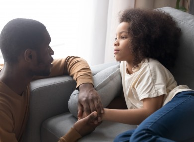 File image: Girls who reported that their mothers and fathers granted them autonomy and freedom had lower levels of depressed mood.
