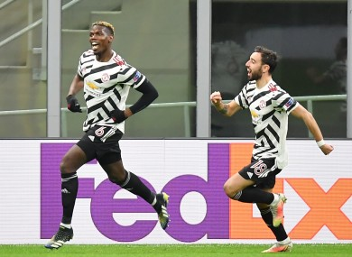 Paul Pogba and Bruno Fernandes will come up against Granada in the quarter-finals.