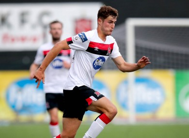Taner Dogan officially signed for Dundalk last month after a lengthy waiting period.