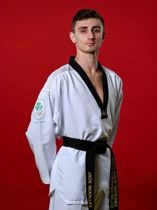 Soon-to-be Irish Olympian Jack Woolley.