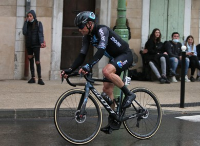 Close contact: Roche is asymptomatic and feeling well, team say (file photo).