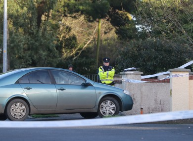 Gardaí outside the home of Elzbieta Piotrowska on 8 January 2019 in Clonmore, Ardee.