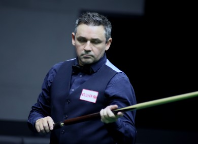 McManus is set to hang up his cue.