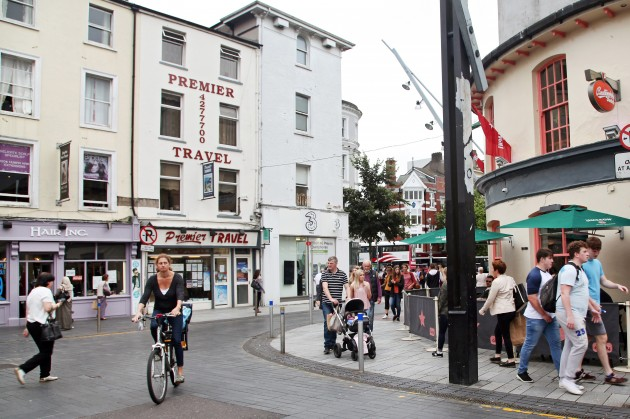Works to begin to permanently pedestrianise 17 Cork city streets