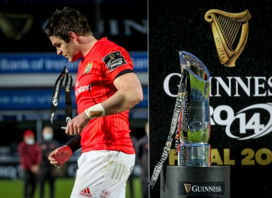 Munster missed out on the Pro14 trophy last month.