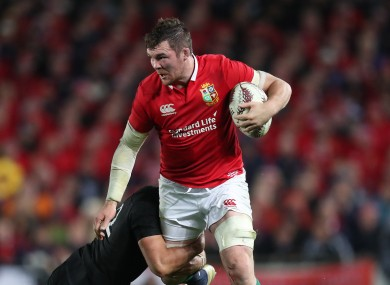 O'Mahony was a Lions tourist in 2017.