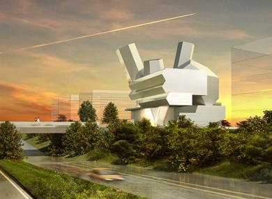 Design for the UCD Centre for Creative Design, University College Dublin.