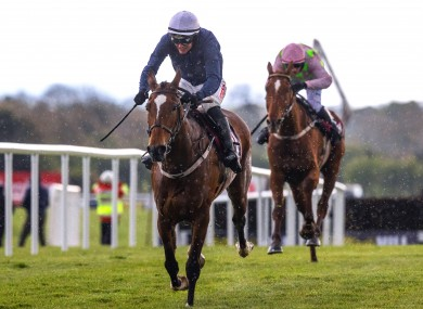 Danny Mullins on board Colreevy comes home to win.