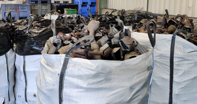 Gardaí seize catalytic converters worth €2.2 million following search in north Dublin