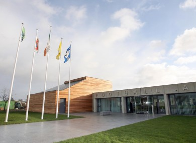 A view of the FAI offices at Abbottstown.