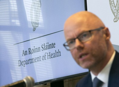 Health Minister Stephen Donnelly.
