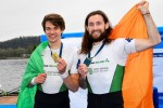 McCarthy and O'Donovan: world, and now European, champions.