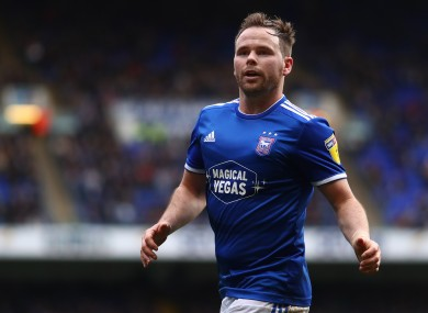 Alan Judge has been with Ipswich Town since January 2019.